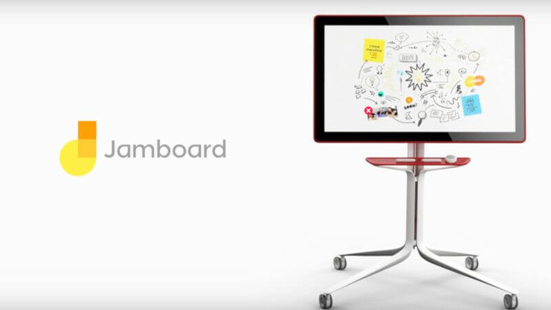 Google เปิดตัว Jamboard กระดานไวท์บอร์ดอิเล็กทรอนิกส์ เพื่องานประชุมสุดทันสมัย