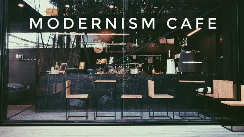 Modernism Cafe คาเฟ่ย่านสุทธิสาร มุมกาแฟในทำเลเสมือนพื้นที่ส่วนตัว