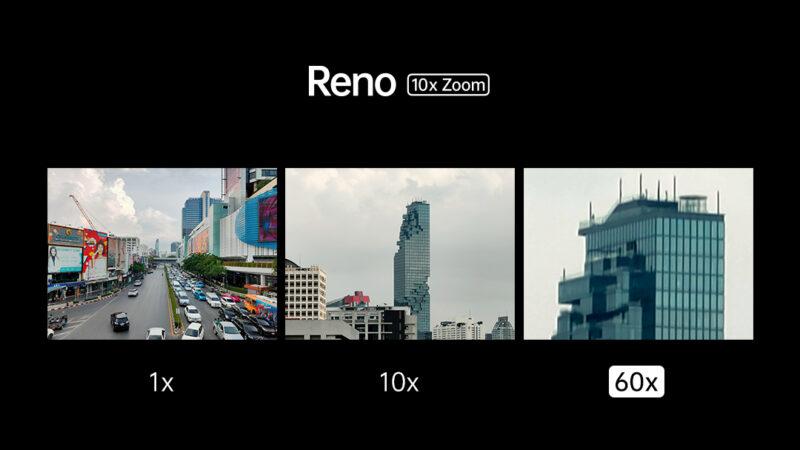 OPPO ปล่อยภาพแรกจากมือถือ Reno โชว์ซูม 10 เท่า ไม่เสียความละเอียด