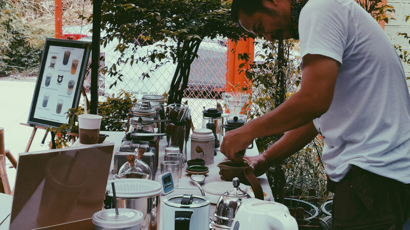 Coffeebear homebrew ร้านกาแฟย่านไทรน้อย ให้ธรรมชาติส่งต่อความรู้สึกดีๆ