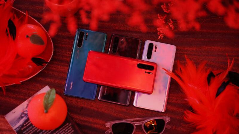 สีใหม่ Huawei P30 Pro Amber Sunrise จัดจ้านดั่งพระอาทิตย์ยามเช้า