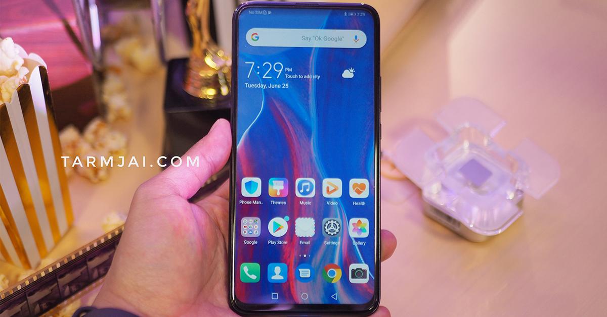 เปิดตัว Huawei Y9 Prime 2019 ราคา 7,990 บาท กล้องหน้าป็อบอัพ รอม 128GB