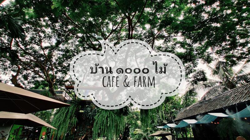 บ้าน ๑๐๐๐ ไม้ cafe' & farm มากกว่าร้านกาแฟ แต่แฝงด้วยมุมเรียนรู้วิถีเกษตร