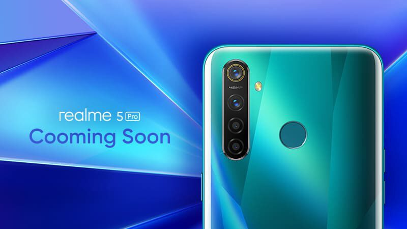 realme 5 Pro กล้องหลัง 4 ตัว ความละเอียด 48MP ยืนยันเตรียมเข้าไทย