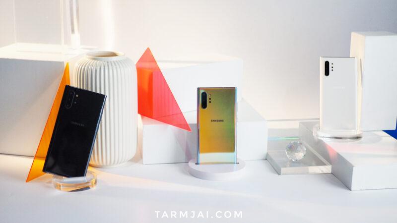 Samsung Galaxy Note 10 ราคา 32,900 บาท Note 10+ แพงสุด 40,900 บาท