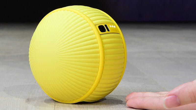 CES 2020 : เปิดตัวหุ่นยนต์ลูกบอล Samsung Ballie ผู้ช่วยดูแลบ้านและสัตว์เลี้ยง