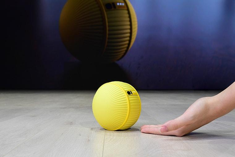 เปิดตัวหุ่นยนต์ลูกบอล Samsung Ballie