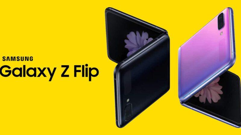 ภาพ สเปก ราคา Samsung Galaxy Z Flip สมาร์ทโฟนพับได้ทรงกระเป๋าสตางค์
