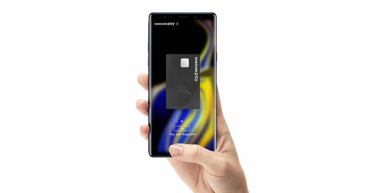 บัตรเดบิต Samsung Pay
