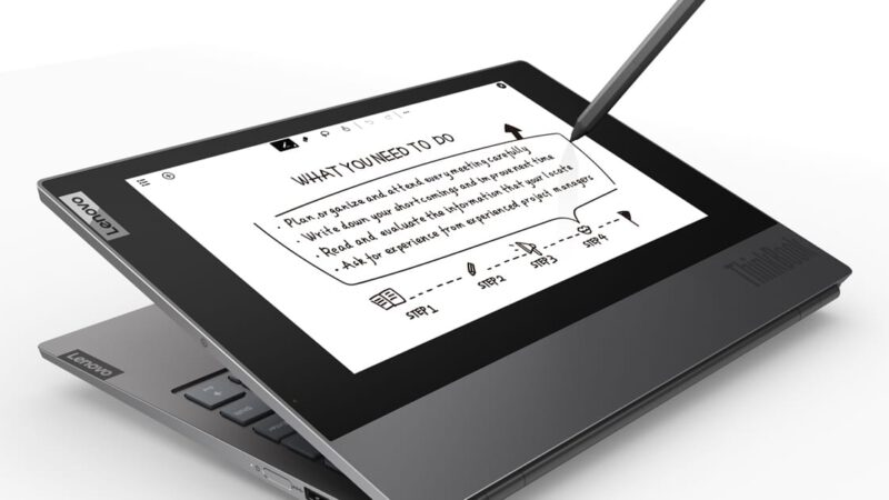 ThinkBook Plus ใหม่ล่าสุด จากเลอโนโว เพื่อการทำงาน พร้อมจอแสดงผล e-Ink
