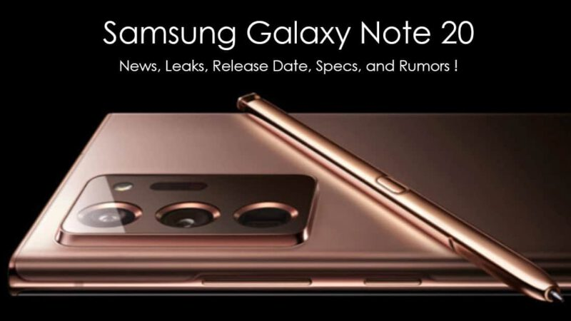 Galaxy Note 20 มีอะไรใหม่ เมื่อซัมซุงเตรียมเปิดตัว 5 ส.ค. 2020