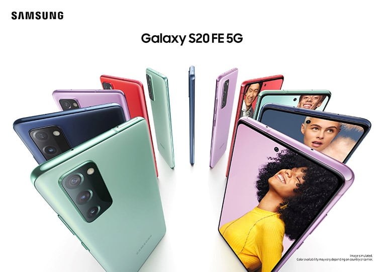 เปิดตัว Samung Galaxy S20 FE