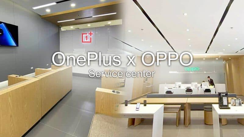 OnePlus จับมือ OPPO ใช้ศูนย์บริการเดียวกัน ให้คำปรึกษาและซ่อมแซมสมาร์ทโฟน OnePlus