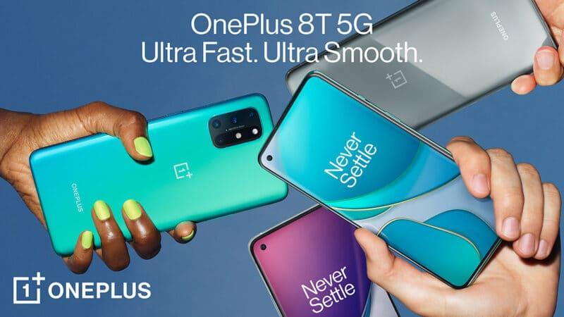 OnePlus 8T เปิดตัว มีชาร์จเร็ว Warp Charge 65W จ่อเข้าไทย 20 ต.ค. นี้