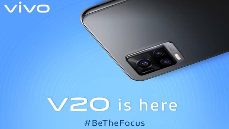 Vivo เปิดจอง Vivo V20 ในไทย ราคา 11,999 บาท มาพร้อม Android 11
