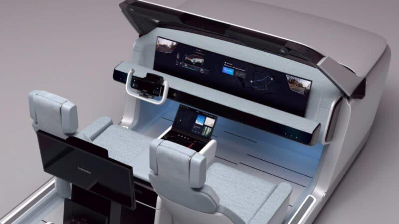 ซัมซุง เผยโฉม Digital Cockpit 2021 ห้องโดยสารล้ำสมัยเพื่อรถยนต์ไร้คนขับ