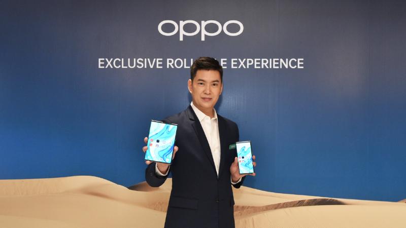"""ครั้งแรกในไทย! ออปโป้ เผยนวัตกรรมฉีกทุกกฎของสมาร์ทโฟน """"OPPO X 2021 Rollable Concept Handset"""" พร้อมเทคโนโลยีแสดงสีล่าสุดที่สมจริงและคมชัดกว่าที่เคย"""