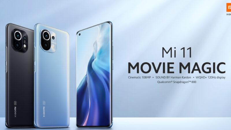Xiaomi Mi 11 เปิดตัว มาพร้อมกล้องหลัง 108 ล้านพิกเซล ยังแถมหัวชาร์จในกล่อง