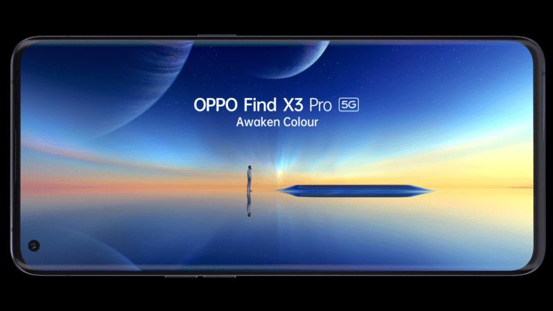 เตรียมพบกับ OPPO Find X3 Pro 5G ที่พร้อมสร้างมาตรฐานใหม่ให้สมาร์ทโฟนระดับแฟล็กชิพด้วยสุดยอดเทคโนโลยีแห่งสีสันพันล้านสี