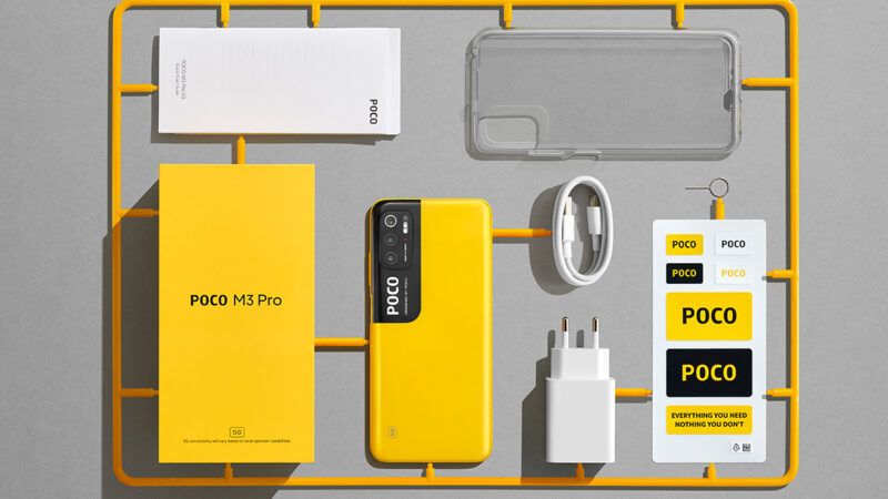 POCO เปิดตัว POCO M3 Pro 5G ราคาเริ่มต้นเพียง 4,999 บาท