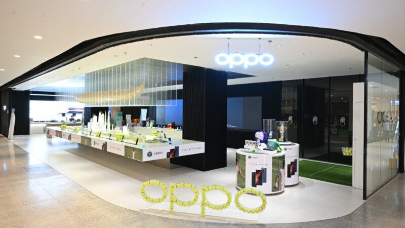 OPPO x Tennis 2021 PLAY WITH HEARTจัดกิจกรรมชวนเหล่าผู้ชื่นชอบเทนนิสมาร่วมโชว์ฝีมือที่ OPPO Biggest Flagship Store ณ CentralwOrld