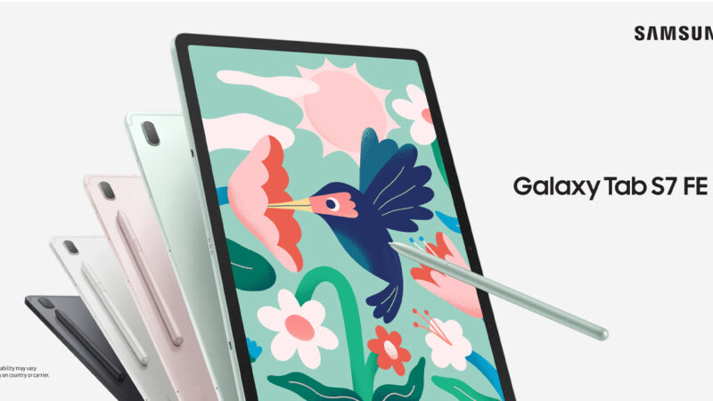 ซัมซุง เปิดตัว Galaxy Tab S7 FE จอ 12.4 นิ้ว S Pen ในกล่องไม่ต้องซื้อเพิ่ม ราคา 19,990 บาท