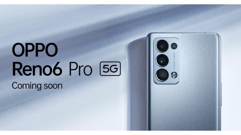 เตรียมพบกับ! OPPO Reno6 Pro 5G รุ่นท็อป ใหม่ล่าสุด พร้อมสุดยอดขุมพลังระดับแฟล็กชิพ และฟีเจอร์เพื่อการถ่ายพอร์ตเทรต 26 สิงหาคมนี้
