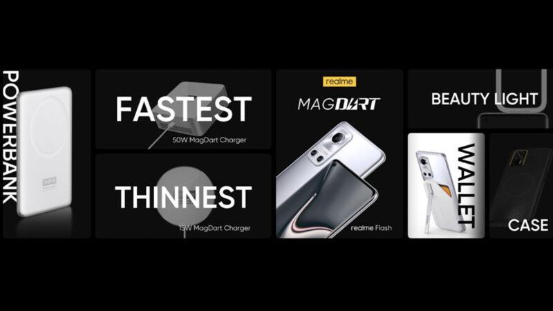 realme เปิดตัว MagDart ที่ชาร์จไร้สายด้วยแม่เหล็กที่เร็วที่สุดในโลก พร้อมอุปกรณ์อื่นๆ เพียบ